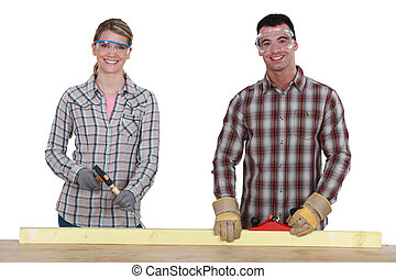 Training in carpentry