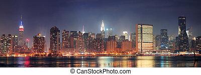 New York City Manhattan panorama