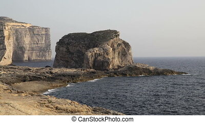 Fungus Rock, Malta - Fungus Rock - an islet made up of...