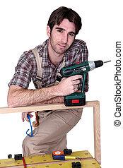 A casual carpenter.