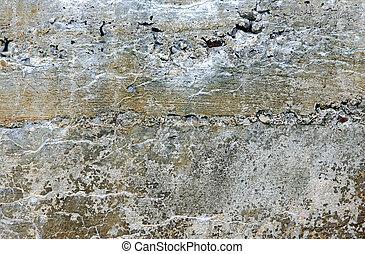 quebrada, pedra, fundo, textura