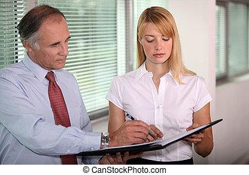 Assinando,  paperwork, saliência