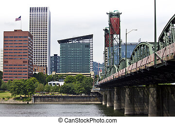 Morrison Bridge Portland Oregon