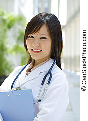 Asian Chinese medical student - A young Asian Chinese...
