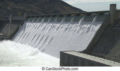 Grand Coulee Hydroelectric Dam