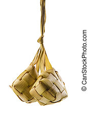 Ketupat or packed rice is a type of dumpling.