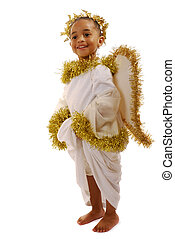 Littest Angel - Adorable preschool girl in an oversized...