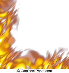 fiery border