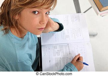 estudar, escola, crianças