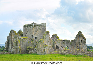 The Rock of Cashel- church
