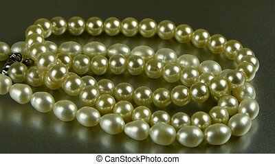 pearl necklace jewelry.