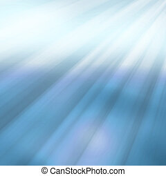 Abstract blue straight lines in a downward angle