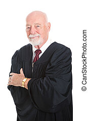 Handsome Mature Judge - Handsome mature judge in his...