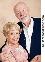 Portrait of Beautiful Senior Couple
