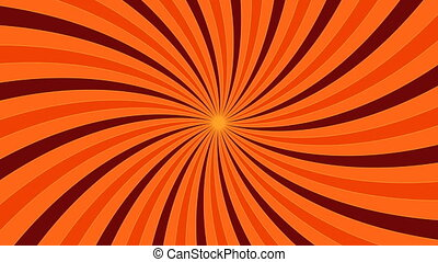 Orange vortex