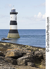 Lighthouse at Penmon Point, Anglesey, North Wales