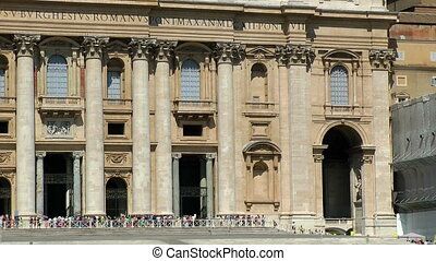 Saint Peter cathedral. Vatican. Rome. Europe.