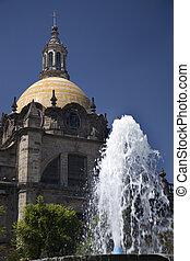 Guadalajara Cathedral - Metropoltan Cathedral, Guadalajara,...