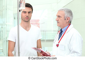 Consultation in the hospital