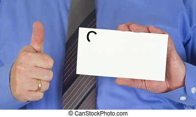 Get your dream job now - Manager holding paper sign with -...