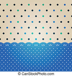 Polka dot background textured
