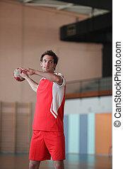 handball, jogador
