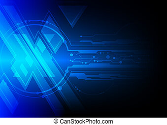 blue cross symbol background
