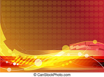 abstract background red theme