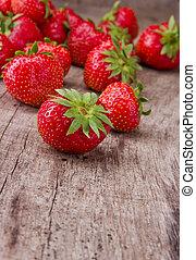 strawberries - Fresh strawberries