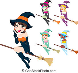 Beautiful Witch - Collection of beautiful women with...