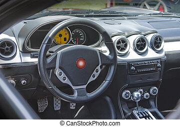 Sportscar dashboard