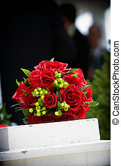 Wedding bouquet flower arrangement - Bridal wedding flowers...