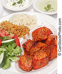 Grilled Afghan Chicken - Authentic Afghan Grilled Chicken...