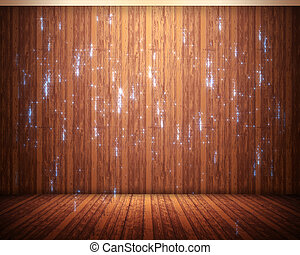 Background of flooring with sparks - Background of brown...