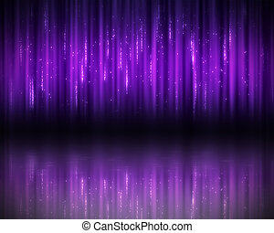Background of purple lines - Background of vertical purple...