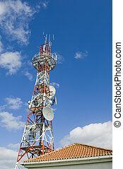 comunicações, torre
