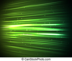 Background of green lines and dots - Background of green...