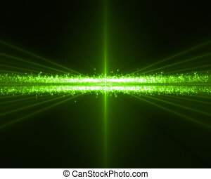 Background of green bundles horizontal