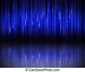 Background of dark-blue lines - Background of vertical...