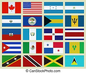 North America countries - Group of North America countries....