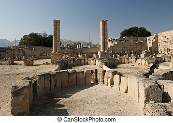 Jericho roman town - Some ruins of the Jericho roman town