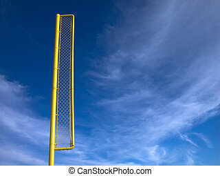 Home Run Standard - Shot of a home run marker at an...