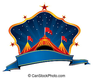 Circus marquee