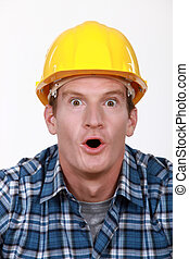 Builder in state of disbelief