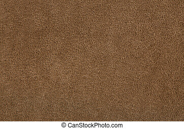 Brown suede - Closeup of natural background - brown suede.