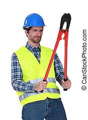 工具, 工人