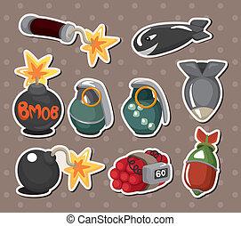 bomb stickers