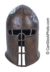 Knight Helm - Medieval knight metal helm for protection and...