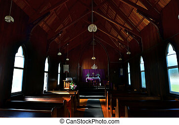 St. Barnabas Church - The interrior of St Barnabas Anglican...