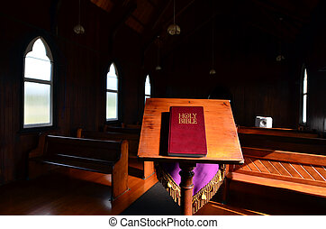 St. Barnabas Church - The Holy Bible in St Barnabas Anglican...